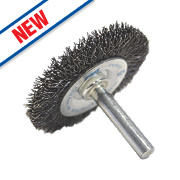 Norton Expert Crimped Wire Wheel Brush 50mm