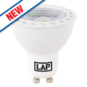 LAP GU10 LED Lamps 210Lm 3W Pack of 5