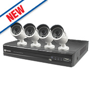 Swann SWNVK-870824 8-Channel HD CCTV Network Video Recorder with 4 Cameras