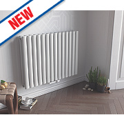 Ximax Fortuna Horizontal Designer Radiator White 600x1180mm