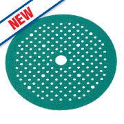 Norton Exp Multi Air Sanding Discs Punched 150mm 80 Grit Pack of 5