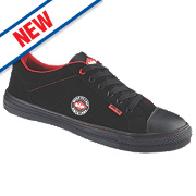 Lee Cooper Flexible Lightweight Trainer Black Size 7