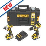 DeWalt DCK250P2 18V 5.0Ah Li-Ion XR Combi Drill & Impact Driver Brushless 2Pk