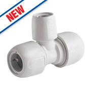 Hep2O Push-Fit Reducing Tee 22 x 22 x 15mm