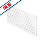 Moretti Modena Single Panel Horizontal Designer Radiator White 578x800mm