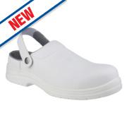 Amblers FS512 Sandal Safety Shoes White Size 12