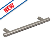 Hafele Barkston Handle Brushed Nickel 128mm