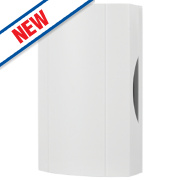 Byron Wired Door Chime Kit White