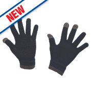 Kerbl Touch Screen Gloves Black