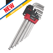 Wiha Magic Ring Metric Hex Key Set 9 Pieces