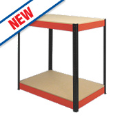 RB Boss Powder-Coated Boltless Freestanding Workbench 900 x 600 x 900mm