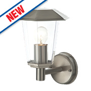 Lighthouse Brushed Stainless Steel Wall Light 40W
