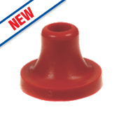 "Arctic Products Low Pressure Ball Valve Seating Washers Red 1"" Pack of 5"