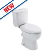 Grove Close Coupled Toilet Dual Flush 4/6Ltr