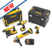 DeWalt DCK451M3-GB 18V 4.0Ah Li-Ion XR Cordless 4 Piece Power Tool Kit