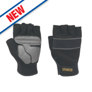 DeWalt Performance Fingerless Gloves Black/Grey Large