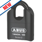 Abus Steel Heavy Duty Closed Shackle Combination Padlock 62.5mm