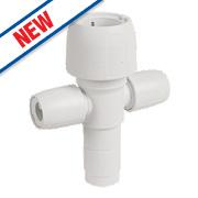 Hep2O 2-Port Manifold Socket/Blank Spigot 22 x 10mm