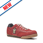 Scruffs Micron Safety Trainers Red Size 8