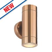 Saxby Odyssey Copper Plate Wall Light 35W