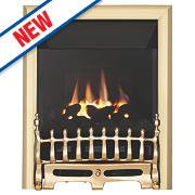 Focal Point Blenheim High Efficiency Gas Fire Brass Inset 5kW