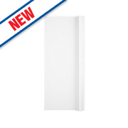 Slab Kitchens Handleless Corner Door White Gloss 715 x 315mm