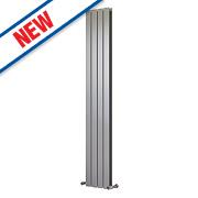 Ximax Oceanus Horizontal/Vertical Designer Radiator Silver 1800x295mm