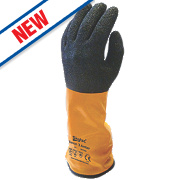 Skytec Xenon Cut 3 Gauntlets Amber/Black Large