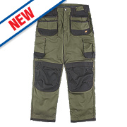 "Hyena Everest Trousers Olive / Black 30"" W 32/34"" L"
