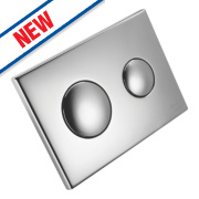 Armitage Shanks Conceala 2 Flush Plate Chrome