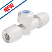 Hep2O HX37/15WS Shut-Off Valve Hot/Cold 15mm
