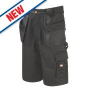 """Lee Cooper LCSHO807 Holster Pocket Cargo Shorts Black 34"""" W"""