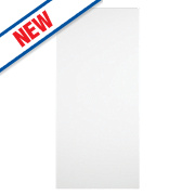 Slab Kitchens Handleless Tall Appliance Door White Gloss 1305 x 597mm