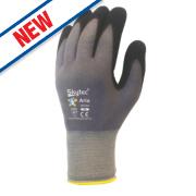 Skytec Aria Nitrile-Coated Gloves Grey/Black X Large