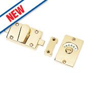 Smith and Locke Bathroom Indicator Bolt Brass