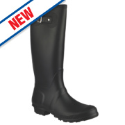 Cotswold Sandringham Buckle-Up Non-Safety Wellington Boots Black Size 4