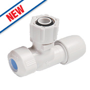 Hep2O Push-Fit Angled Service Valve 15mm x ½""