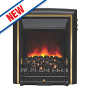 Be Modern Comet Traditional Electric Inset Fire Black Finish 2kW