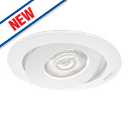Philips Adjustable Asterope LED Downlight 440Lm White 4.5W 230V