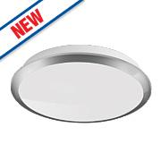 Philips Denim LED Wall & Ceiling Light Chrome 3W