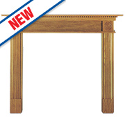 Focal Point Woodthorpe Fire Surround Oak Veneer