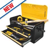 Stanley 2-Drawer Metal Tool Box 19