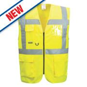 Portwest Hi-Vis Thermal Waistcoat Yellow Large 44