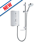 Mira Sport Max with Airboost Manual Electric Shower White/Chrome 10.8kW