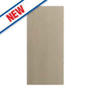 Matt Oak Slab Kitchen Add-On Wall Panel 355 x 18 x 776mm