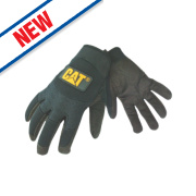 Cat Mechanic's Gloves Black Large