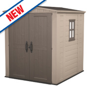 Keter Factor Plastic Shed 6' x 6' x 6'9