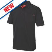 Lee Cooper Polo Shirt Black Medium