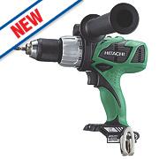 Hitachi DV18DBL/W4 18V Cordless Combi Drill Brushless - Bare