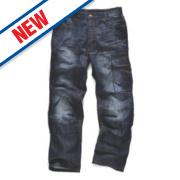 Scruffs Trade Denim Jeans Blue 36